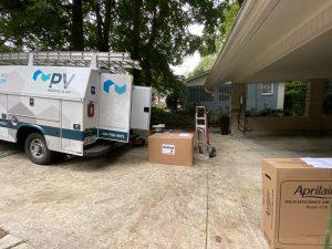 PV HVAC Install